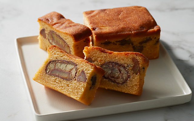 【2019 特選】銀座の日本料理店渾身の栗のパウンドケーキ
