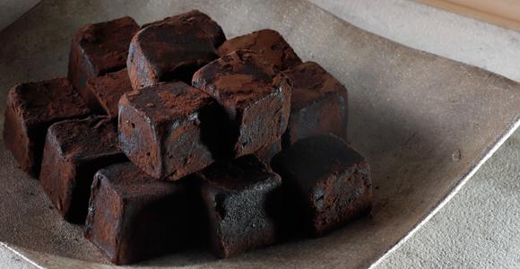 モルトの香りが広がる大人の味わい、竹鶴ピュアモルト生チョコレート