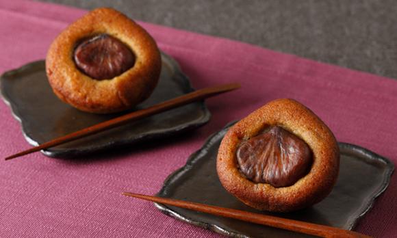 どこを食べても栗の風味が広がる、ホクホクの栗菓子