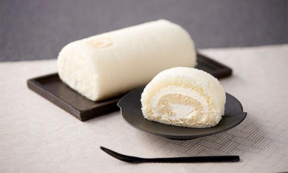 <愛媛県>真っ白な生地の秘密は卵! もっちり食感の「ロールケーキ」