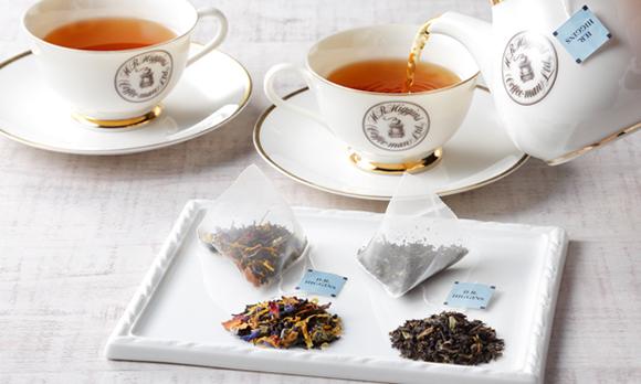 英国王室御用達!世界に3店舗しかない「H.R.ヒギンス」の紅茶ギフト
