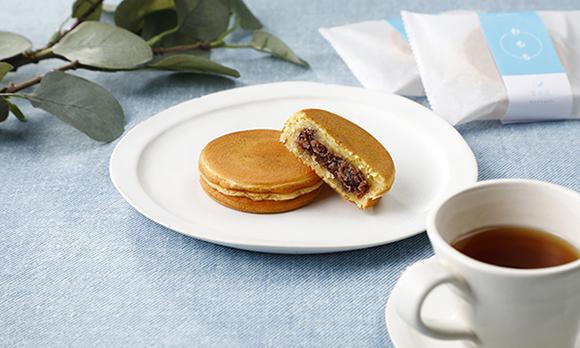 もちもち食感が美味。コーヒーにも合う和菓子