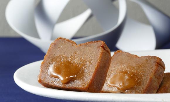 一口食べるととろけだす、濃厚&リッチな風味のキャラメルショコラ