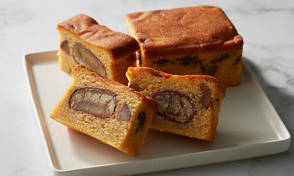 1日20本限定! 銀座の高級料理店が手がける和栗パウンドケーキ