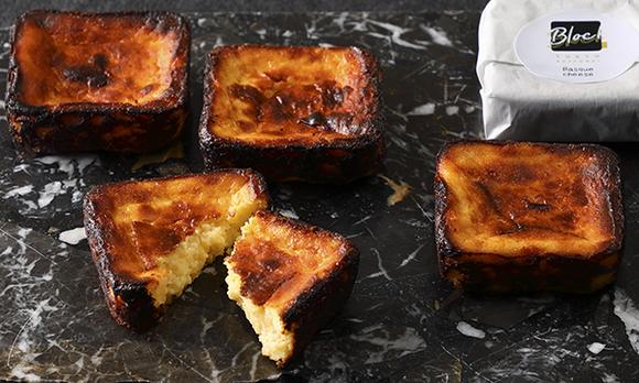 流行りの品をギフトに。手のひらサイズのバスクチーズケーキ