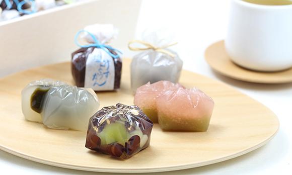 夏にぴったり! お皿に乗せるだけで見栄えがする和菓子ギフト