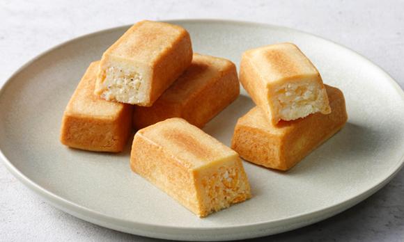 個包装で便利! しっとりおいしいチーズタルト