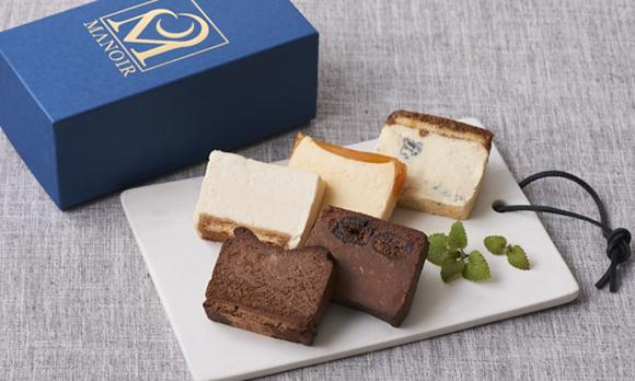 カット済み個包装がうれしい、レストランのチーズケーキ!