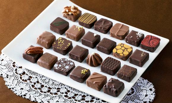 美味しさに定評のある高級チョコレートは女性秘書に人気のアイテム。