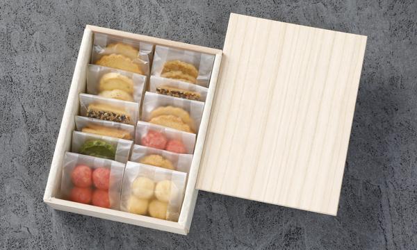 和心 クッキー詰め合わせの箱画像