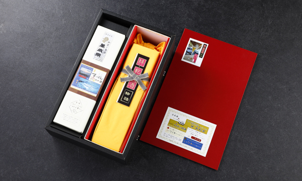 能登の仔すっぽん 絆酒(1年モノ、2・3年モノ) 720ml×2本セット 進物箱入の箱画像