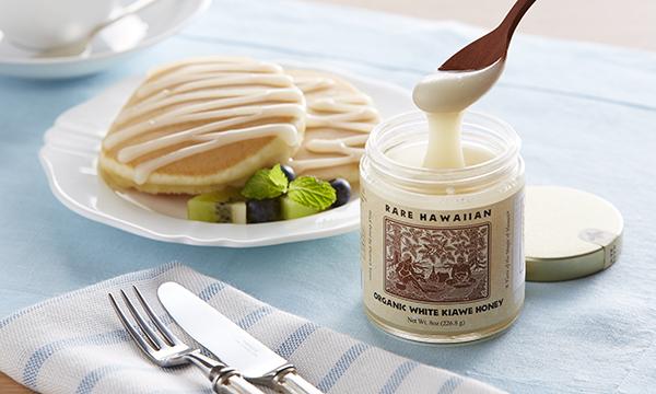 幻の白いはちみつ Rare Hawaiian Organic White Honeyの内容画像