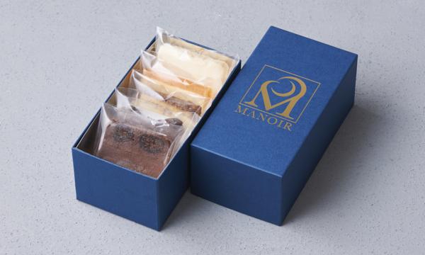 マノワのチーズケーキの箱画像