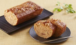九度山産の完熟富有柿 パウンドケーキ