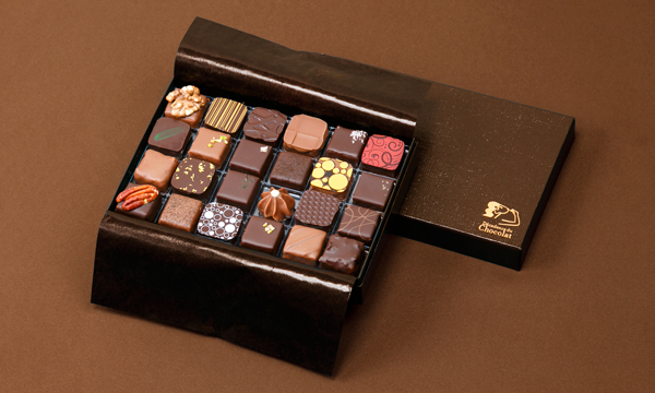 ボンボンショコラ24個入りの箱画像