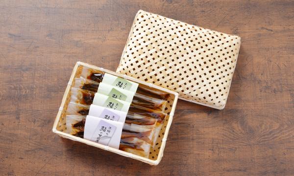 おりーぶ鮎の甘露煮・子持ち鮎の甘露煮食べ比べセットの箱画像