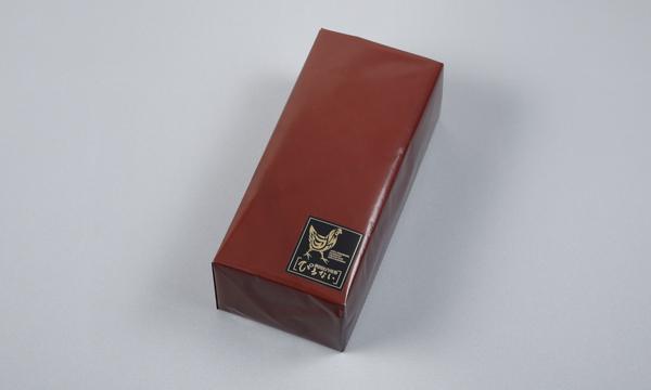 秋田比内地鶏 無添加ブロックハム2本セットの包装画像