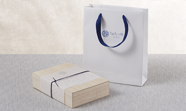 天草スペシャルブレンドオリーブオイル&バルサミコセットの紙袋画像