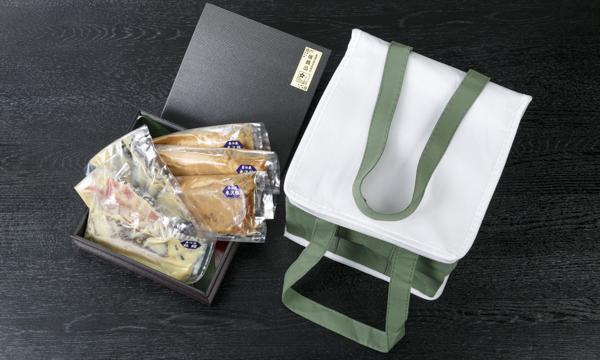 日本料理の逸店「割烹 とんぼ」 メープル西京焼き<漬魚(銀鱈・金目鯛・銀鰈)・豚肉(米沢豚)>の箱画像
