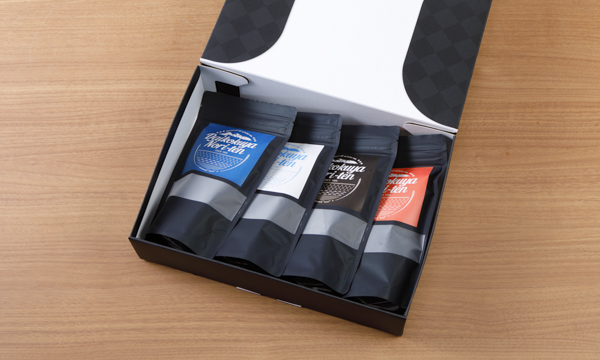 "seaweed ""nori""4種類ギフトボックスの箱画像"