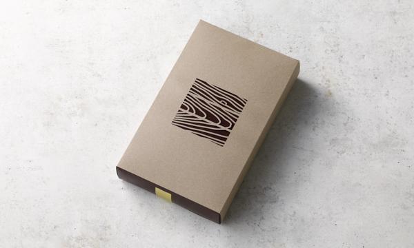 木目のバーの包装画像