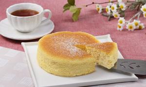 発酵豆乳スフレケーキ