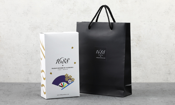 "1688 200ml JAPANセット""ノンアルコール""(2020年限定)の紙袋画像"