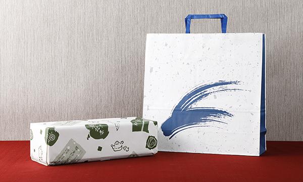 玉露・特上煎茶詰め合わせの紙袋画像