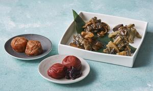 プレミアム漬物6種セット<古漬4種、梅ぼし2種>