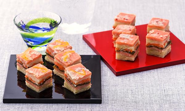北彩庵 極 時鮭のキャベツかさね漬(麹・柚子)の内容画像