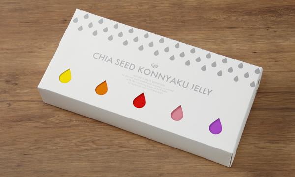チアシード蒟蒻ゼリーミックスの包装画像