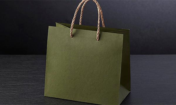 会津郷土料理 三種盛 ・会津ネギ味噌・にしんの山椒漬け・棒タラ甘露煮の紙袋画像