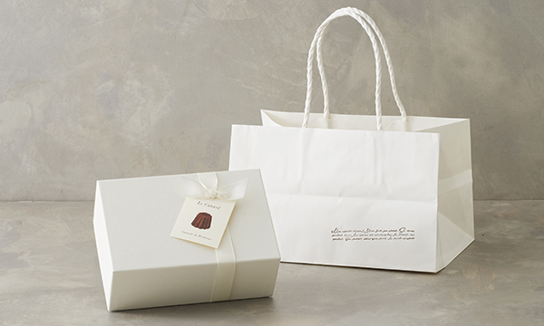 カヌレ ギフトセット(Lサイズ)の紙袋画像