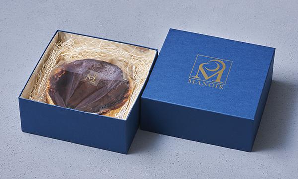 マノワのバスクチーズケーキの箱画像