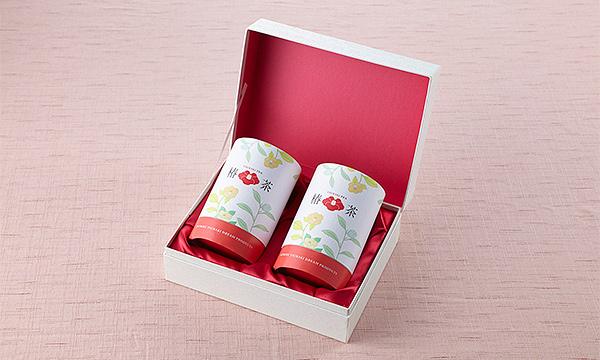 椿茶 プレミアムギフトの箱画像