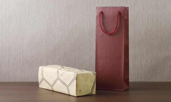 岩手名産 老舗の味 つゆ 化粧箱入りの紙袋画像