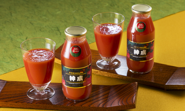 神成本舗 プレミアムトマトジュースの内容画像