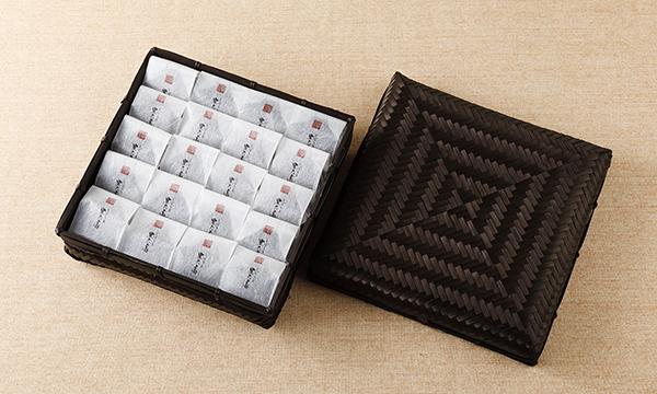 しぼり豆丹波黒大寿 小袋20袋入り籠の箱画像