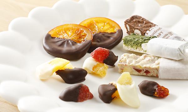 チョコレートアソート 3種の内容画像