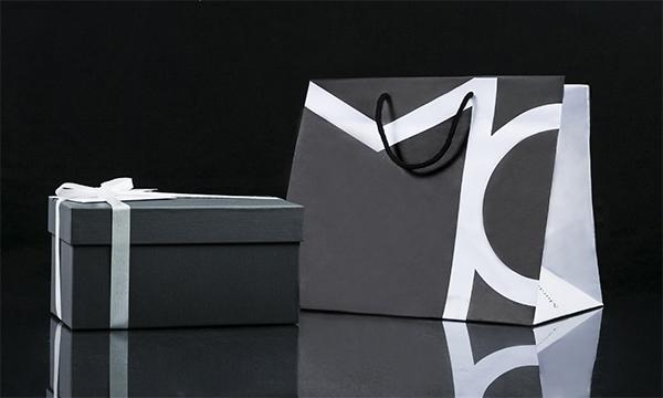 i diversi ドリンキンググラス 2個セットの紙袋画像