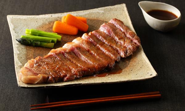 黒毛和牛ステーキセットの内容画像