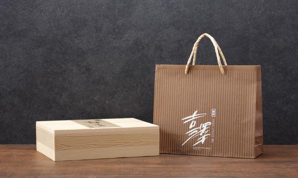 松阪牛シルクハンバーグの紙袋画像
