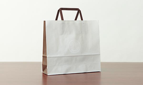 郷愁の柿18個入の紙袋画像