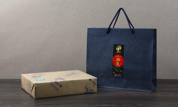 肥後そう川の潤生麺セレクト(そうめん・そば・うどん)の紙袋画像