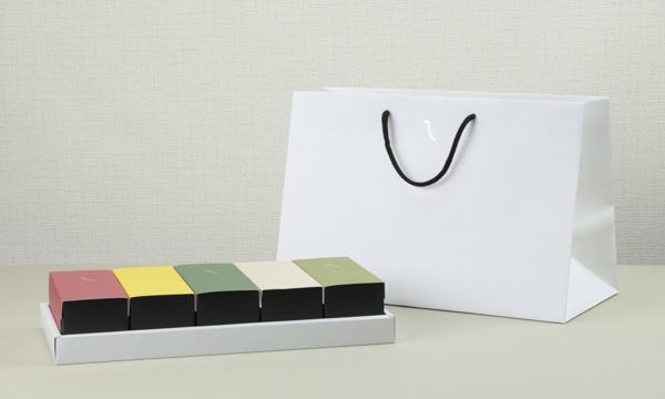 八代風菓の紙袋画像