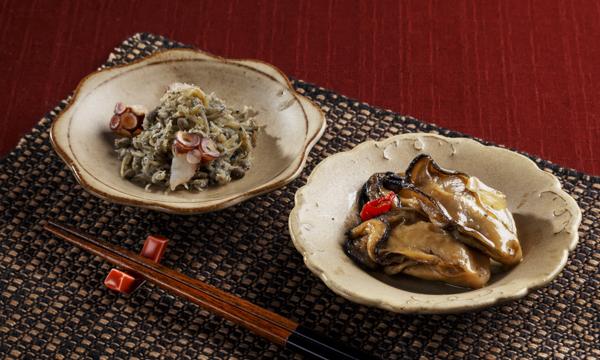 ひとくちの幸せ「牡蠣オイル・瀬戸内山椒」の内容画像