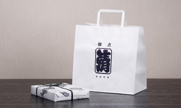贅沢茶漬・杉箱の紙袋画像