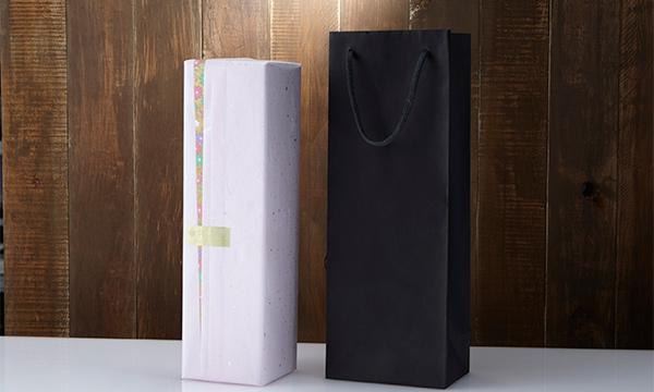 MIZUBASHO PURE(スパークリング日本酒)の紙袋画像