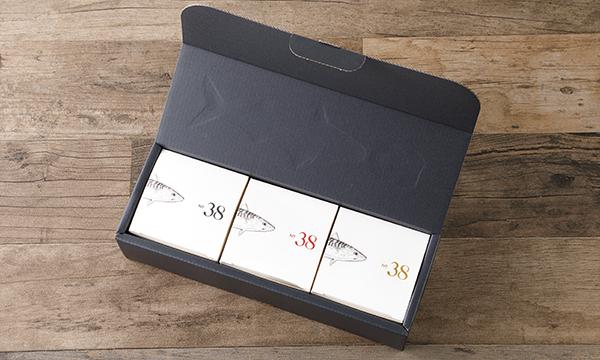 No.38(ナンバー・サーティエイト) 珠玉の3缶セットの箱画像