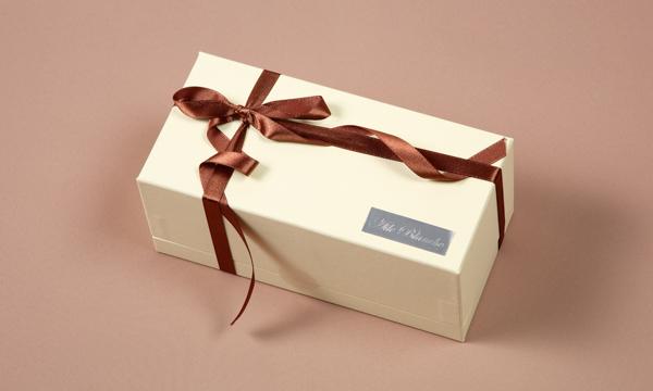 白いガトーショコラの紙袋画像